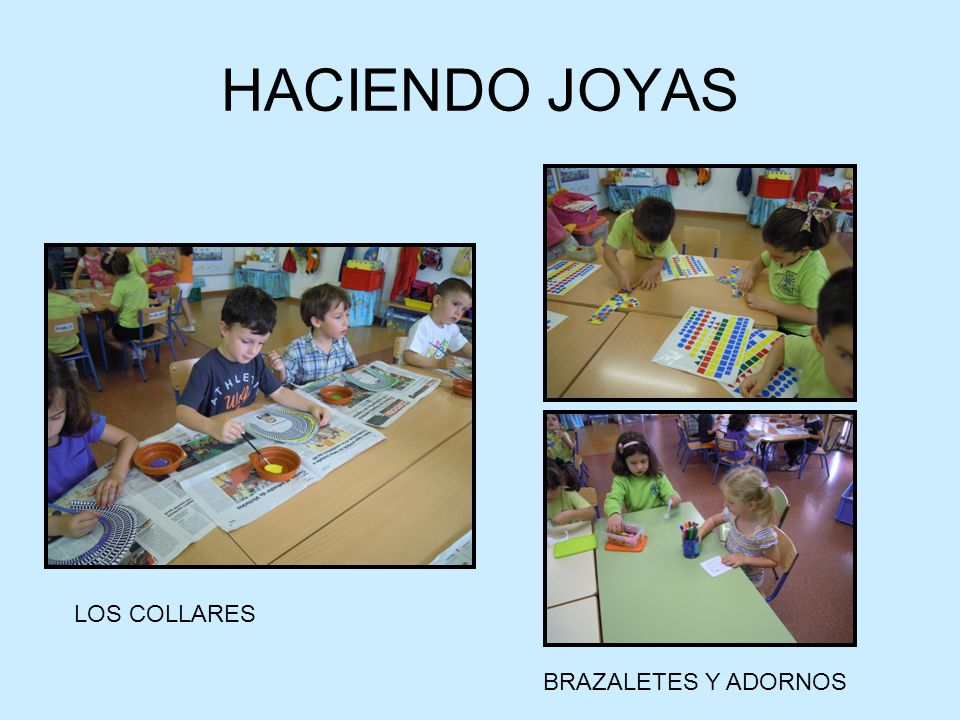HACIENDO JOYAS LOS COLLARES BRAZALETES Y ADORNOS