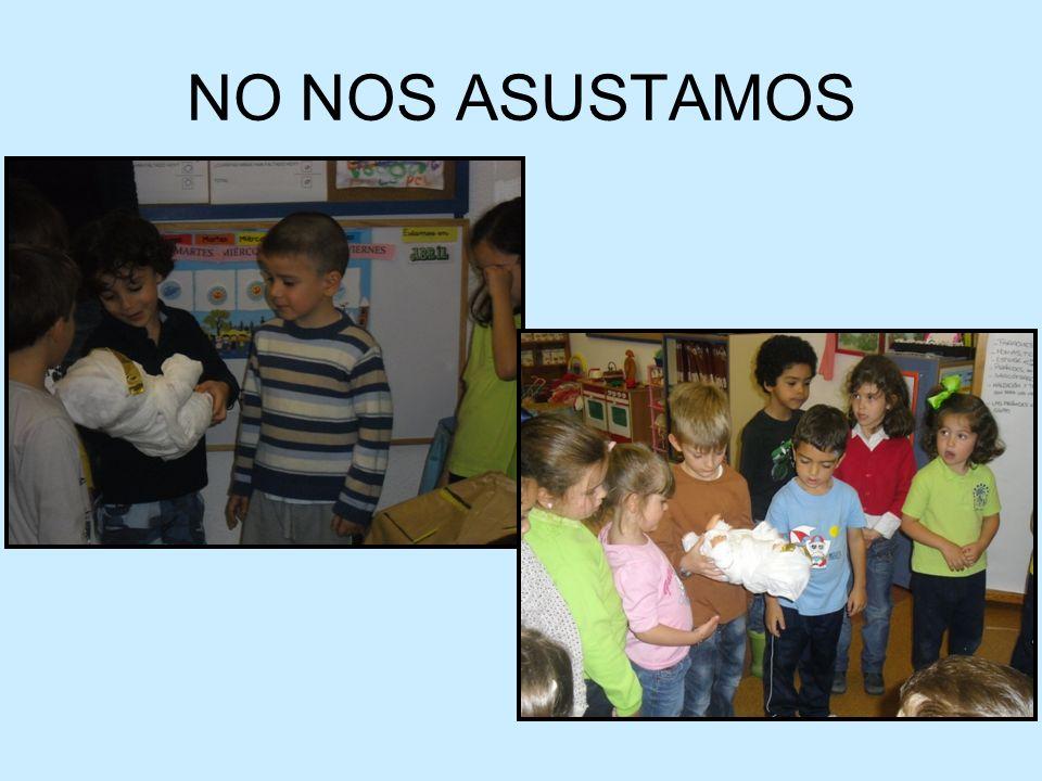 NO NOS ASUSTAMOS
