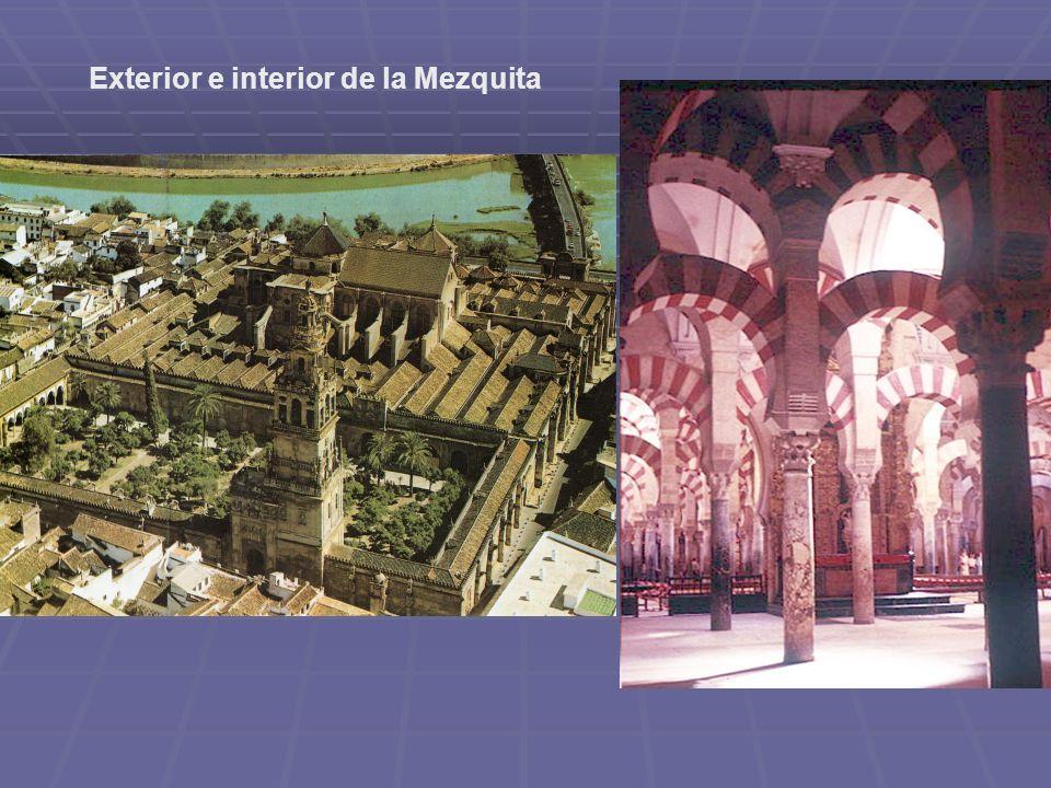 Exterior e interior de la Mezquita