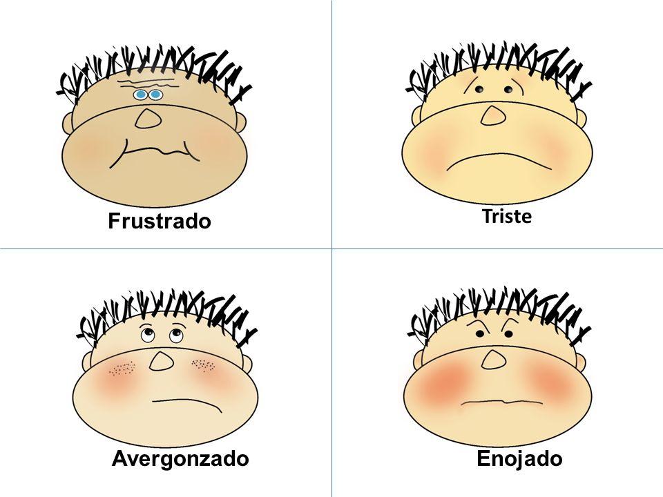 Frustrated Avergonzado Frustrado Triste Enojado