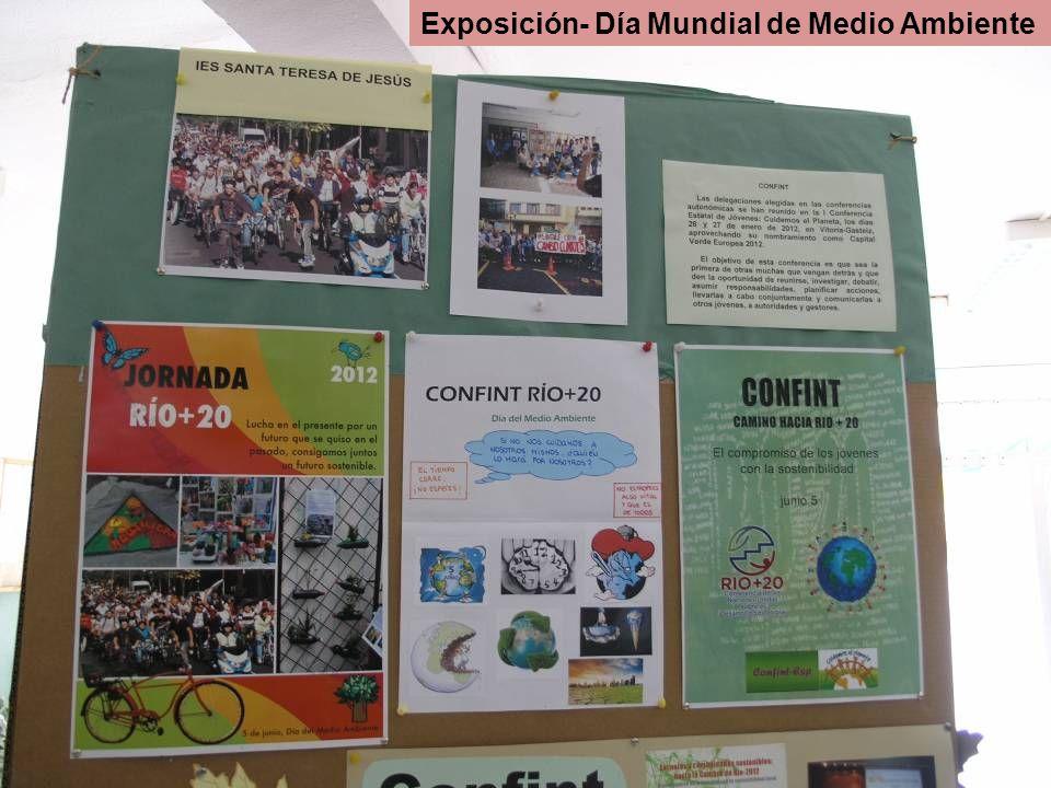 Exposición- Día Mundial de Medio Ambiente