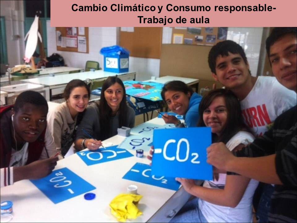 Cambio Climático y Consumo responsable- Trabajo de aula