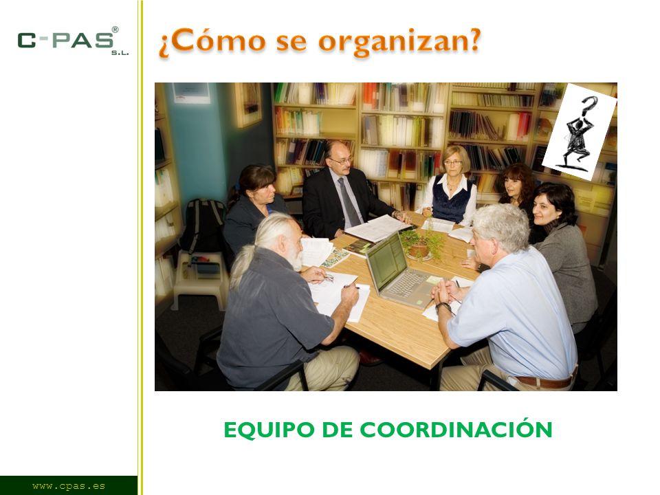 www.cpas.es EQUIPO DE COORDINACIÓN