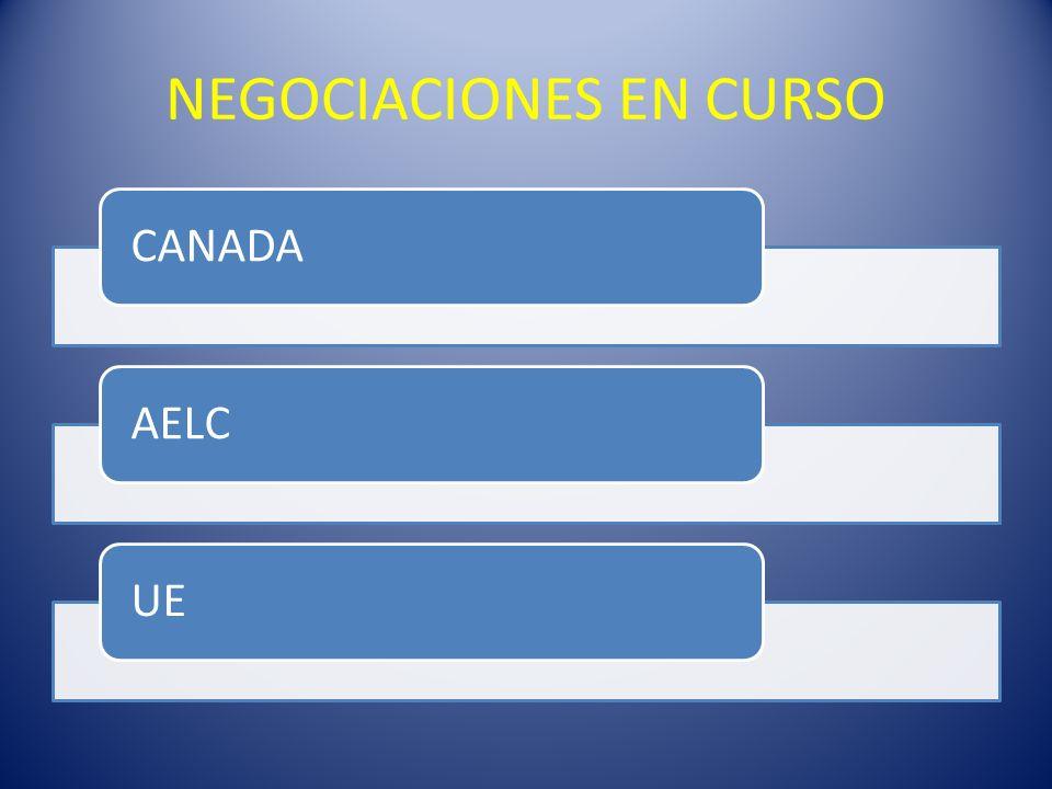 NEGOCIACIONES EN CURSO CANADAAELCUE