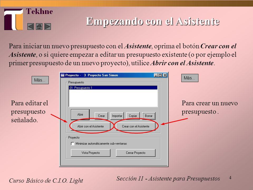 5 Paso 1 - Datos Básicos Curso Básico de C.I.O.