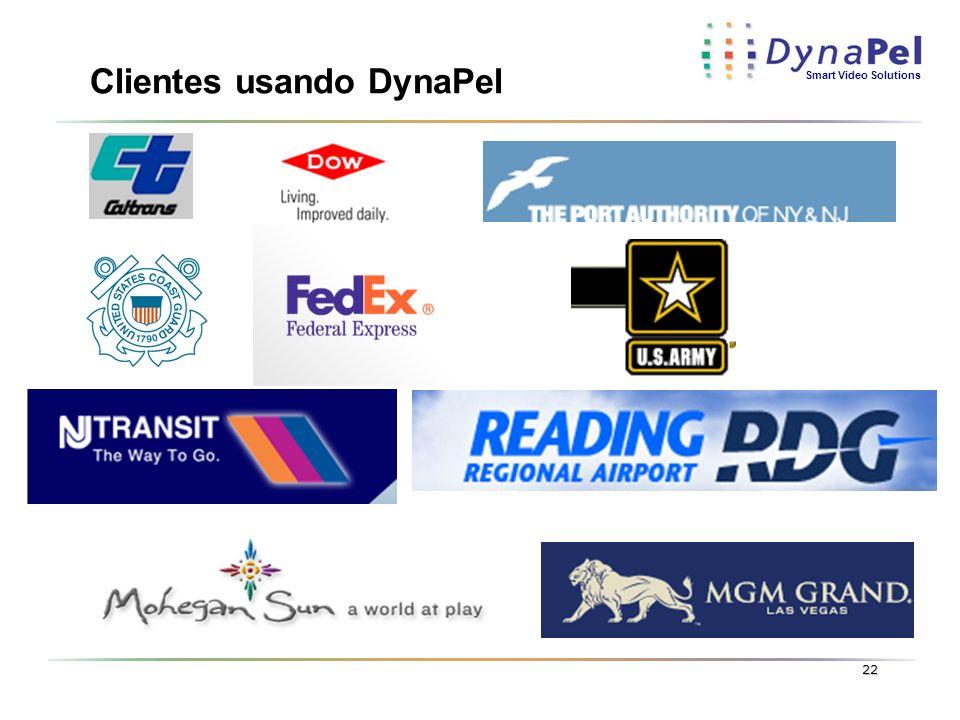 Smart Video Solutions 22 Clientes usando DynaPel