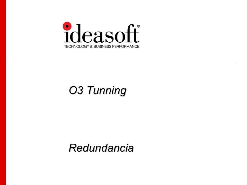 Aplicación de Redundancia – RedunMgr Luego de la carga de un cubo se puede aplicar redundancia al mismo.