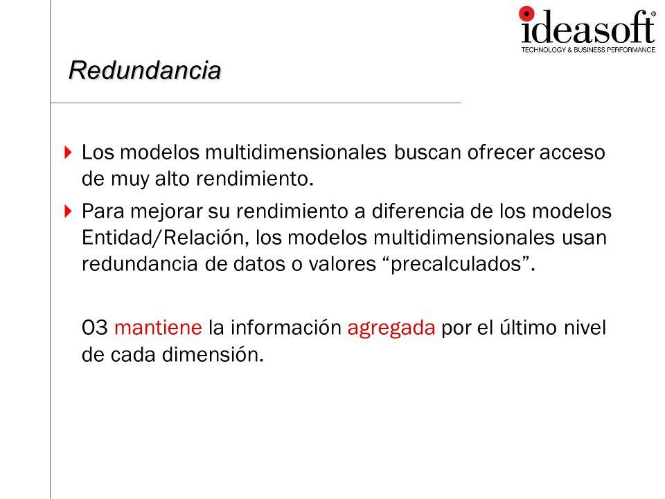 Aplicación de Redundancia – RedunMgr - cmnd show – Información de Redundancia de un cubo showCover – además información de entrada de datos Suspend – suspende el uso de un nivel de redundancia Unsuspend – desactiva la suspensión add – agrega un nivel de redundancia.