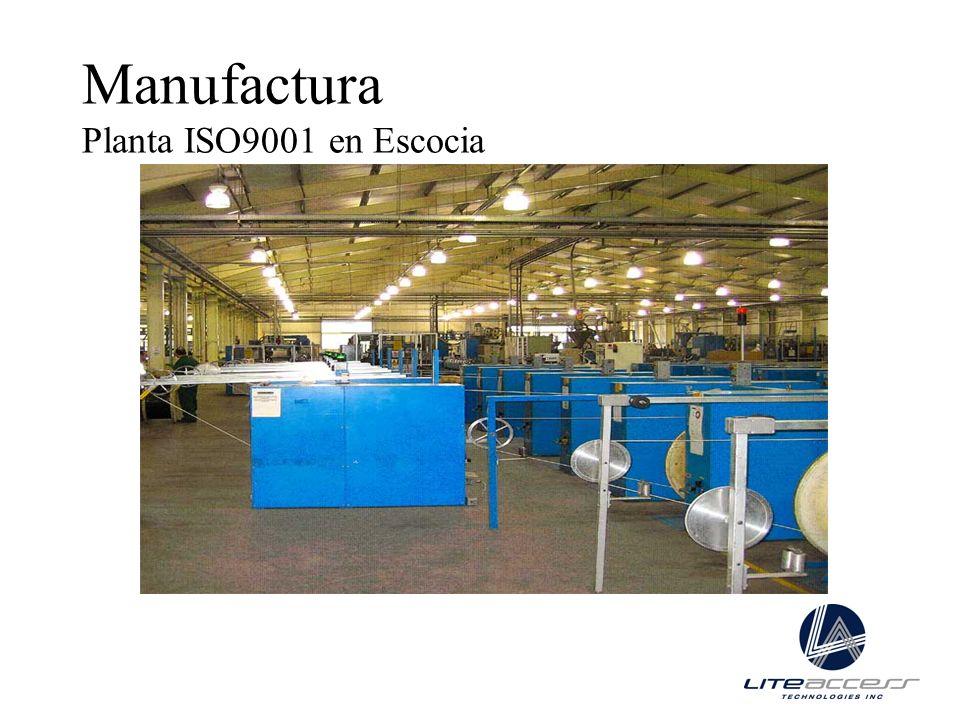 Manufactura Planta ISO9001 en Escocia