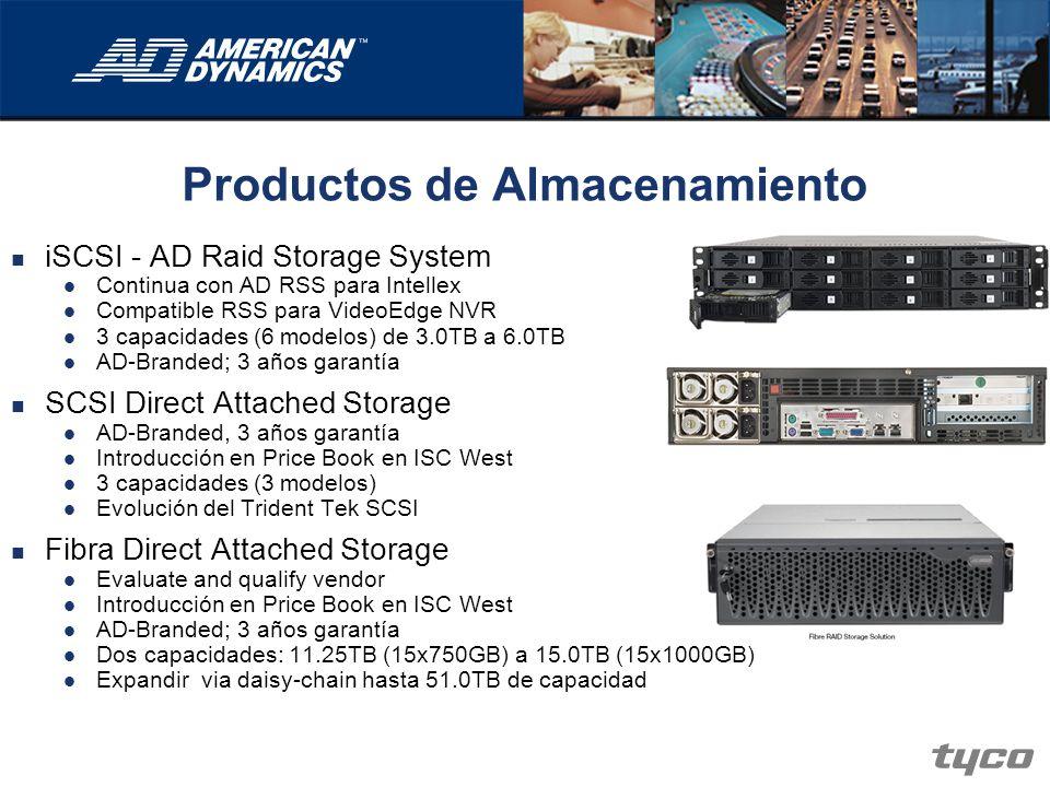 Productos de Almacenamiento iSCSI - AD Raid Storage System Continua con AD RSS para Intellex Compatible RSS para VideoEdge NVR 3 capacidades (6 modelo
