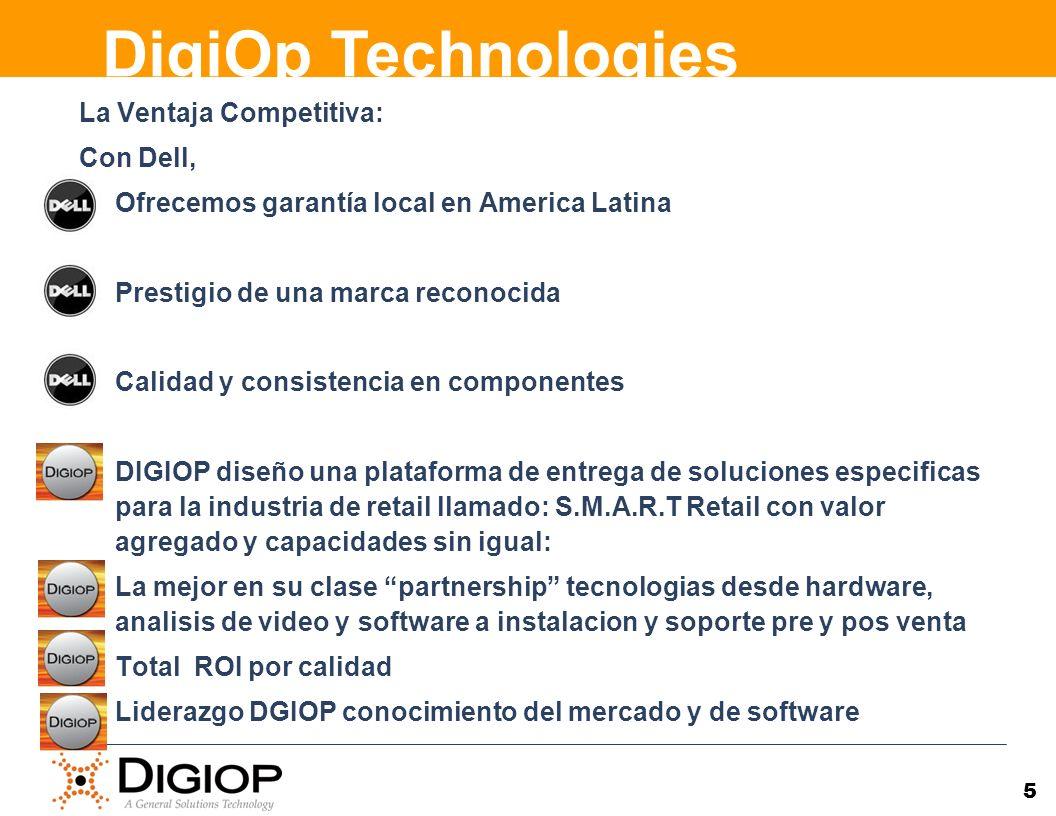 La Ventaja Competitiva: Con Dell, Ofrecemos garantía local en America Latina Prestigio de una marca reconocida Calidad y consistencia en componentes D