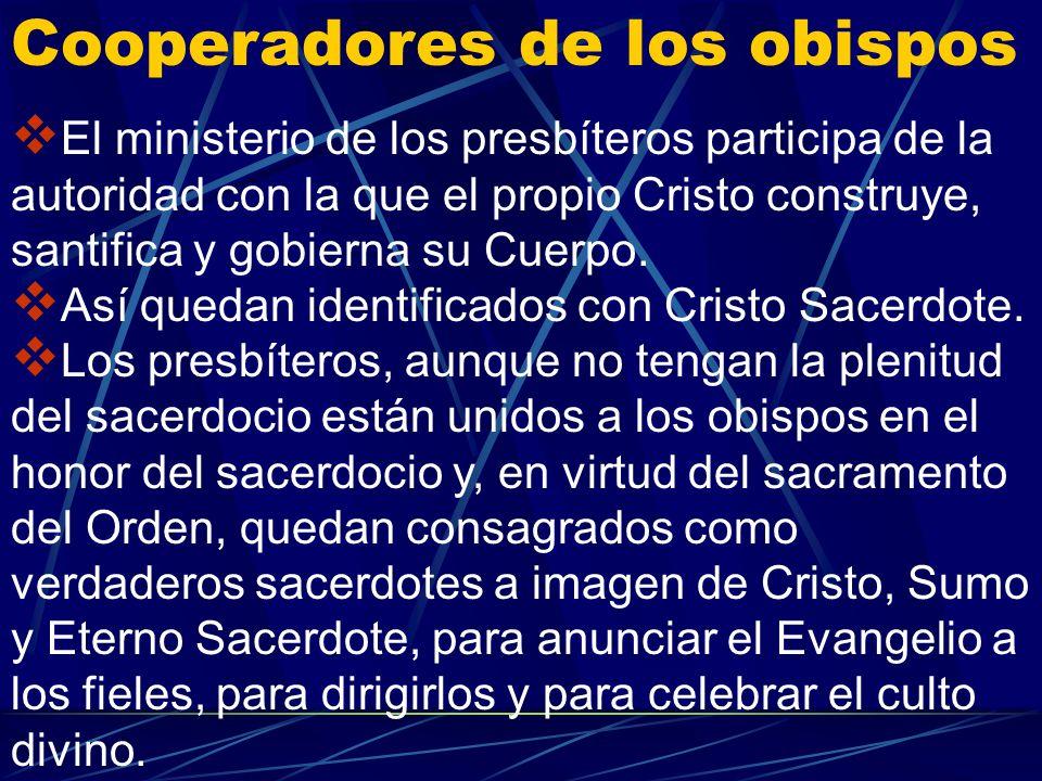 Cristo hizo a los obispos partícipes de su consagración y misión por medio de los apóstoles de los cuales son sucesores. La Eucaristía celebrada por e