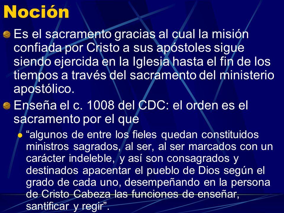 El Sacramento del Orden Sagrado P. Juan María Gallardo P. Juan María Gallardo
