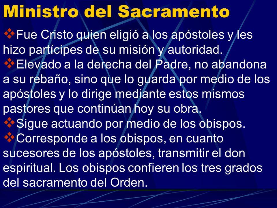 En el rito latino hay ritos iniciales : la presentación y elección del ordenando, la alocución del obispo, el interrogatorio del ordenando, las letaní