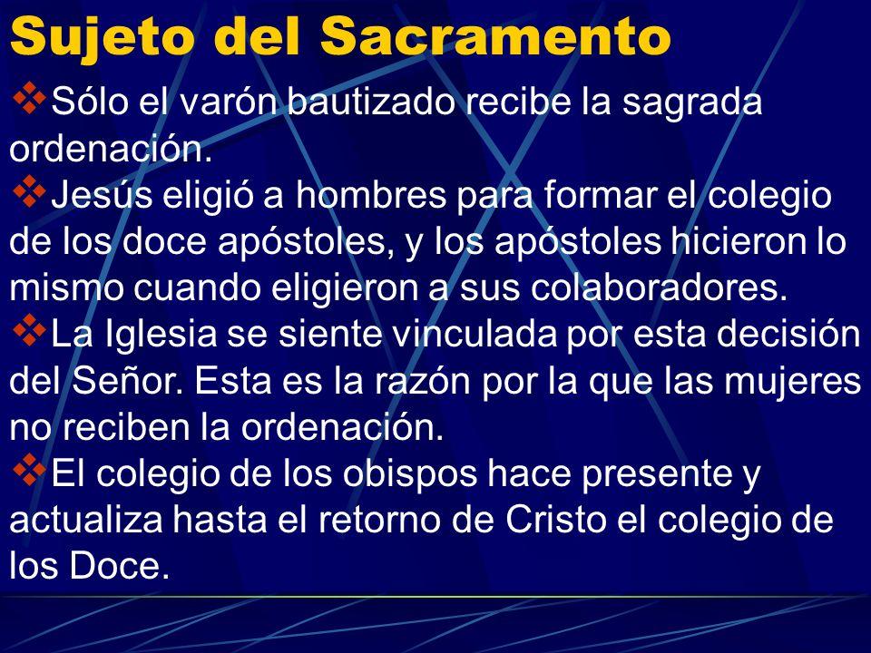 Fue Cristo quien eligió a los apóstoles y les hizo partícipes de su misión y autoridad. Elevado a la derecha del Padre, no abandona a su rebaño, sino