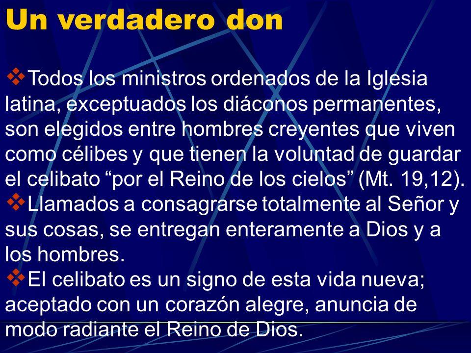 Nadie tiene derecho a recibir el sacramento del Orden. Al sacramento se es llamado por Dios. Quién cree reconocer las señales de la llamada de Dios al