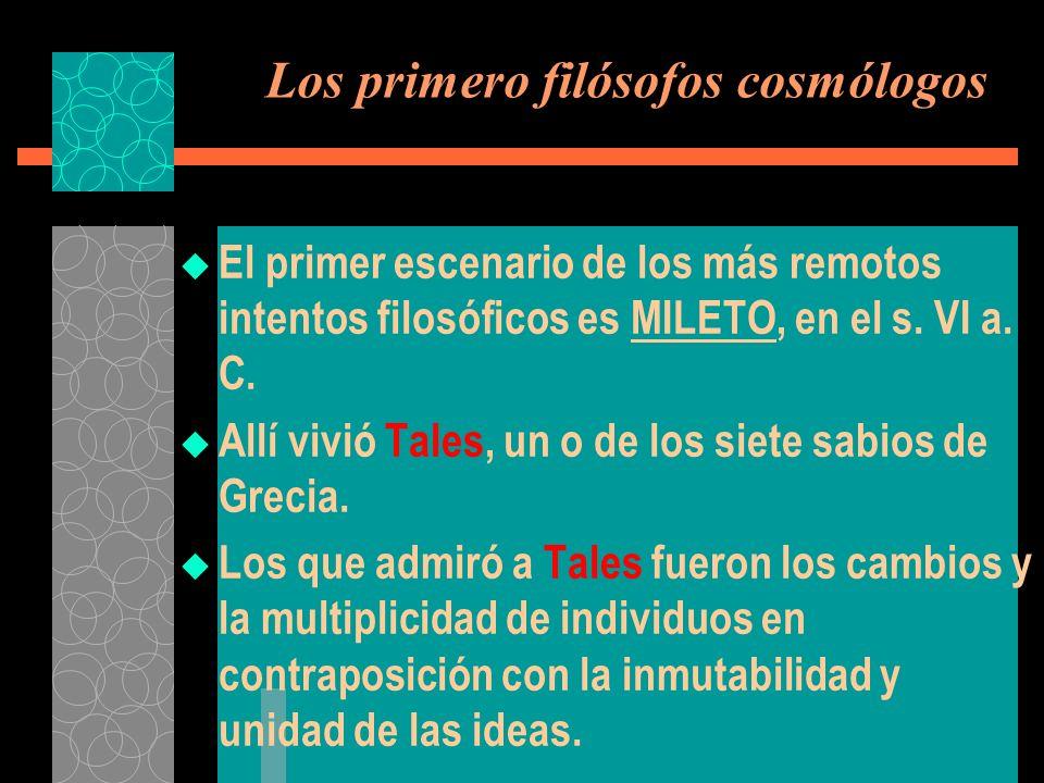 Aristóteles La FORMA Es heredera de la IDEA platónica.