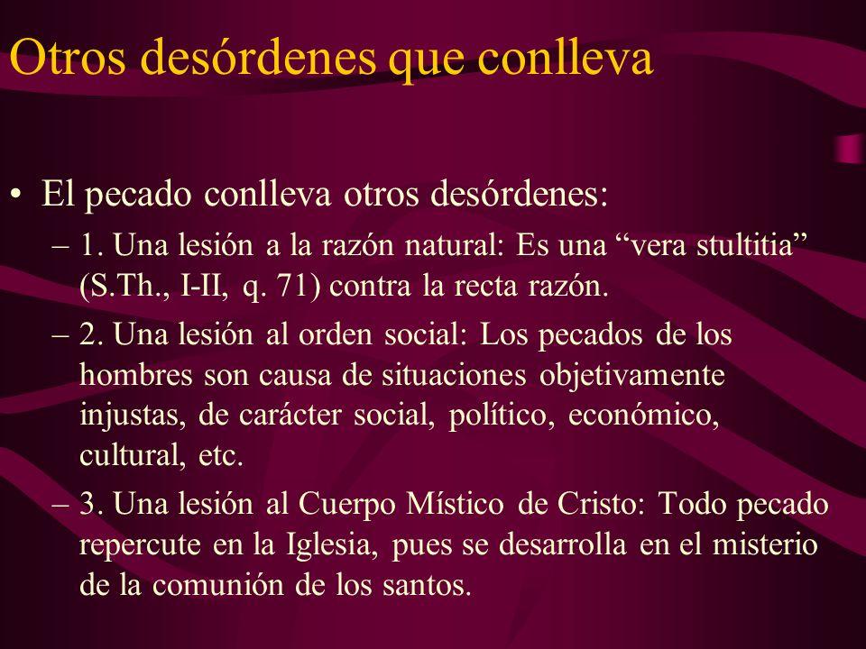 Comunión del pecado En su Exh.Ap. Reconciliación y Penitencia, el Papa J.P.