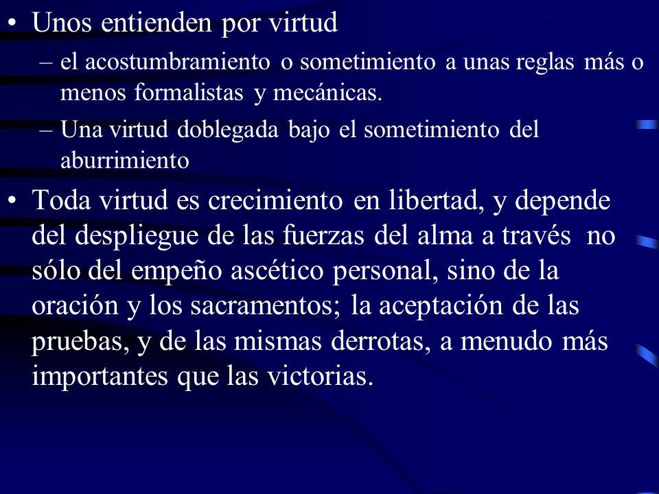 División de las virtudes Por su origen –A) Por su origen: –1.