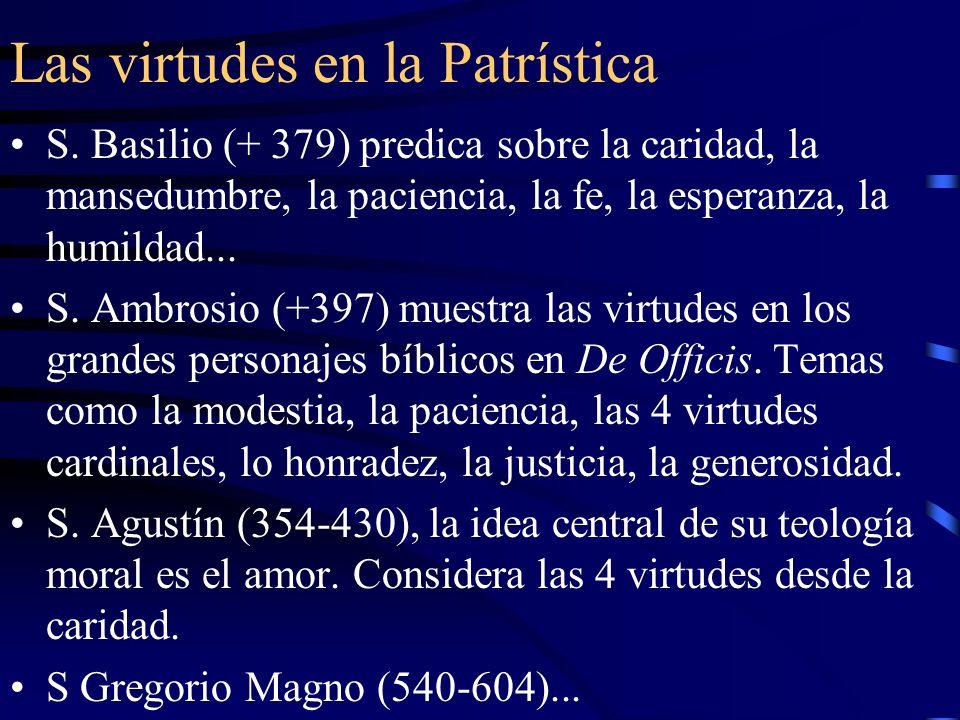 Reflexión teológica En la Teología Medieval: Pedro Lombardo (+1160) estudia las virtudes en N.