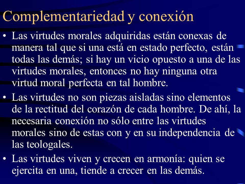 Escribe San Agustín La inseparabilidad de las virtudes siempre convenció a los filósofos (…).
