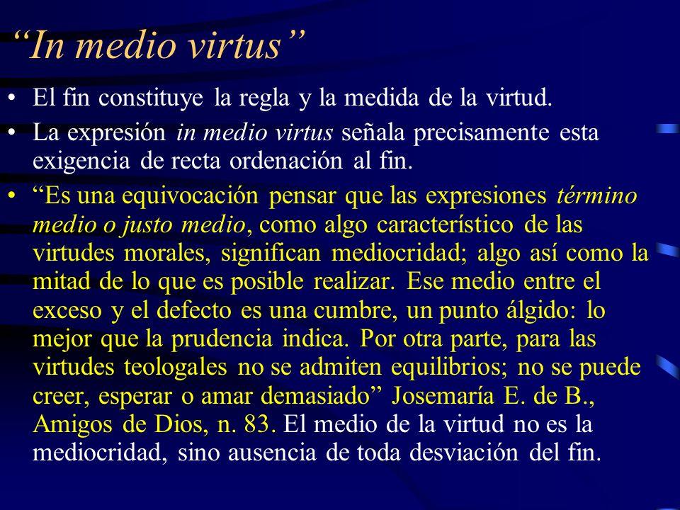 Las virtudes sobrenaturales La gracia y la divinización del ser cristiano La gracia –convierte al hombre en hijo de Dios y –le proporciona los principios operativos para conducirse como tal.