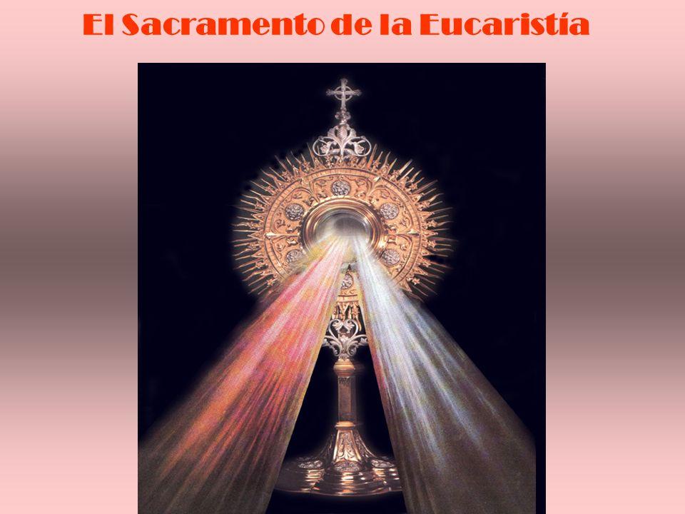 Hace presente y actual el sacrificio que Cristo ha ofrecido al Padre.