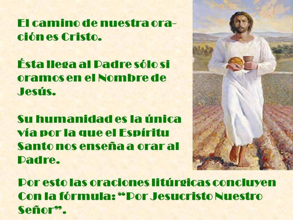 El Espíritu Santo es el Maestro interior de la oración cristiana.