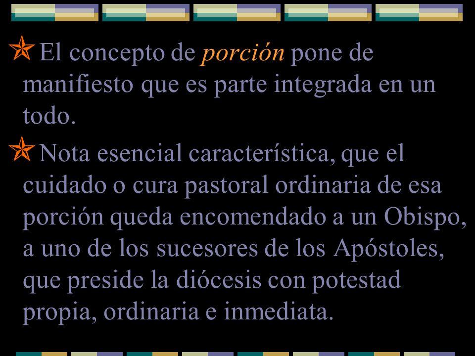 Existen otras estructuras que son porciones del Pueblo de Dios, en las que, sin embargo, la capitalidad no corresponde a un Obispo en cuanto tal.