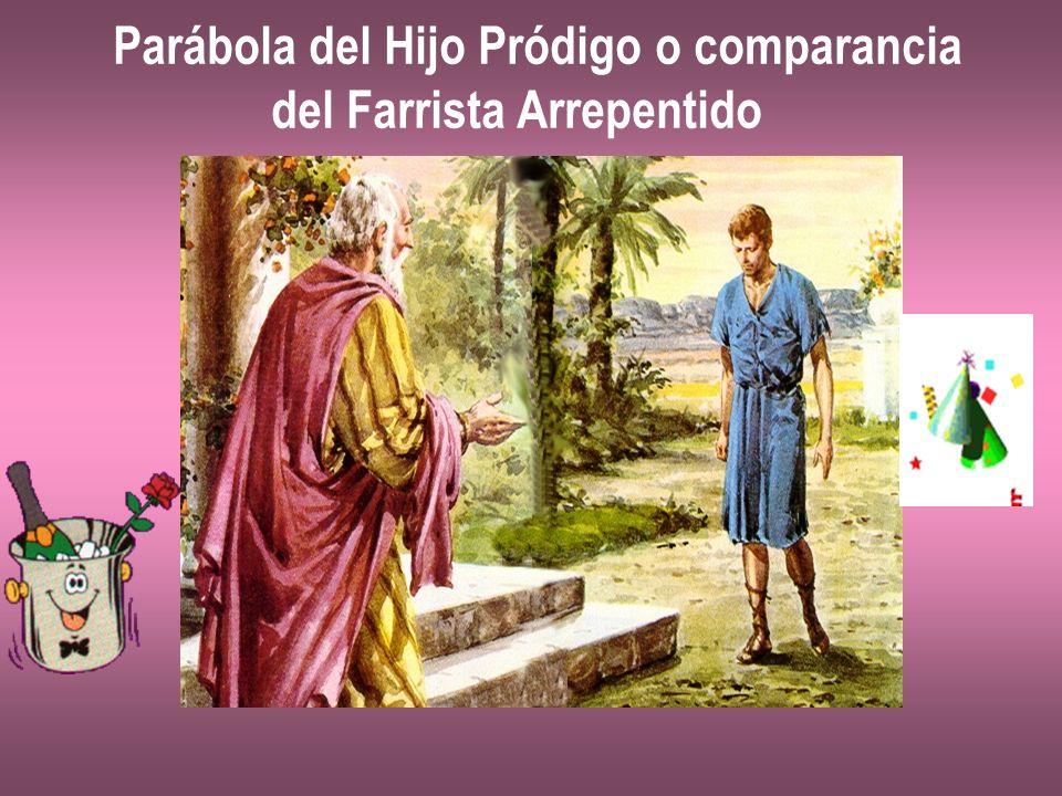 Parábola del Hijo Pródigo o comparancia del Farrista Arrepentido