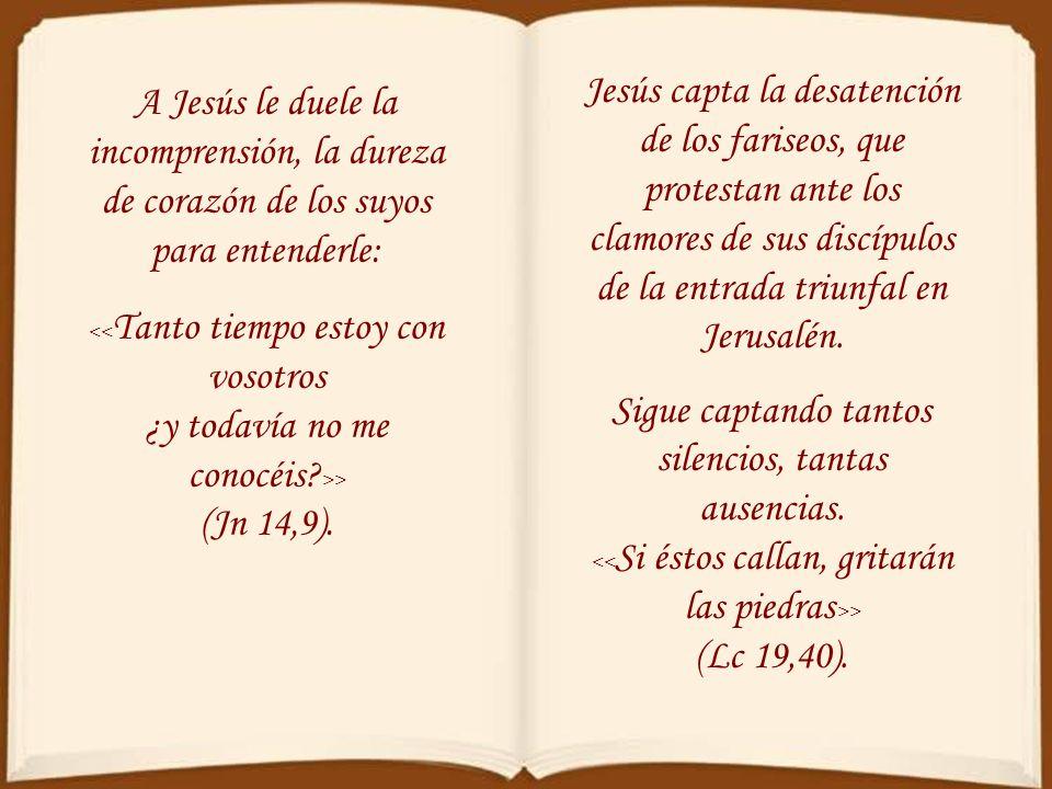 Este lenguaje lo recogerán los improperios de la liturgia del Viernes Santo, inspirados en el profeta Miqueas: << Pueblo mío, ¿qué te he hecho?, ¿en q