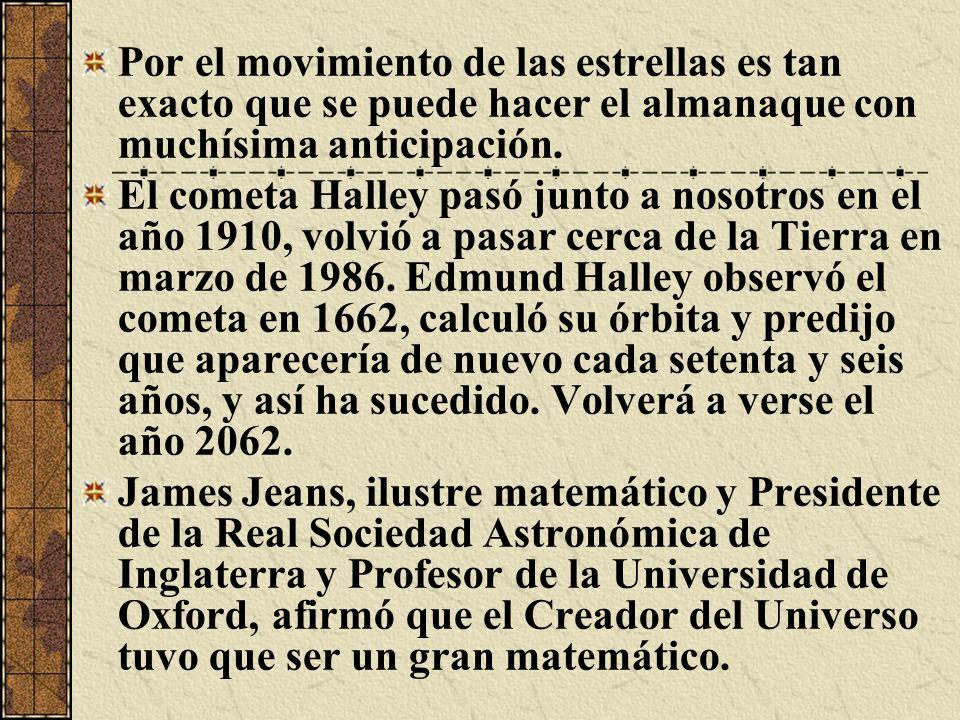 Einstein dijo: La Naturaleza es la realización de las ideas matemáticas de Dios y Paul Dirac, (Catedrático de Física Teórica de la Universidad de Cambridge): Dios es un matemático de alto nivel.