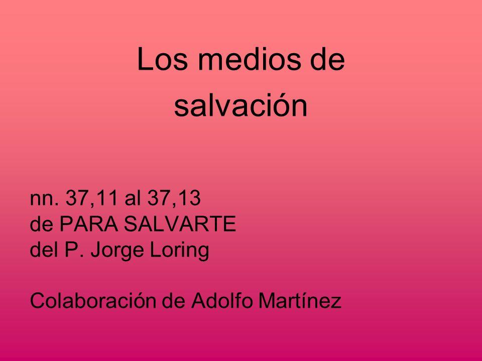 La plenitud de los medios de salvación sólo se pueden encontrar en la Iglesia Católica.