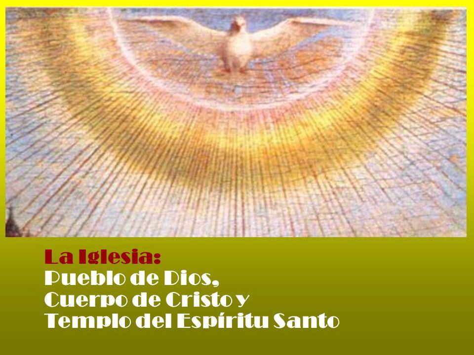 La Iglesia es una Porque tiene como alma al Espíritu Santo que une a todos los fieles en la comunión en Cristo.