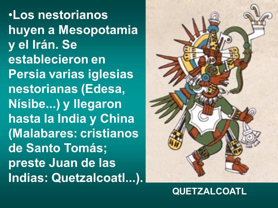 En 1308 se produce un cisma entre los nestorianos y hay un acercamiento de uno de los grupos.