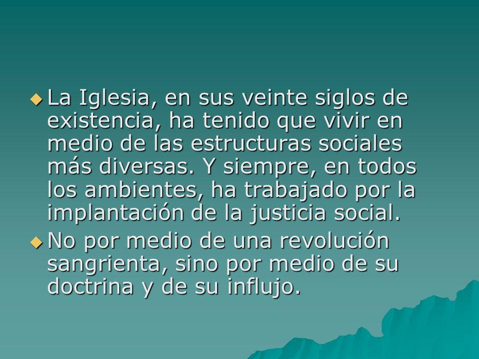 «La igual dignidad de las personas humanas exige el esfuerzo para reducir las excesivas desigualdades sociales y económicas, e impulsa a la desaparición de las desigualdades inicuas».