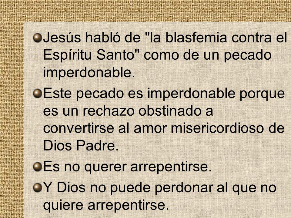Jesús habló de