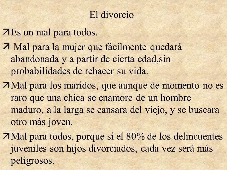 El divorcio El adulterio nn.:97.7 b y 97,7 c de Para Salvarte del padre Jorge Loring Colaboración de: Alejandro Núñez