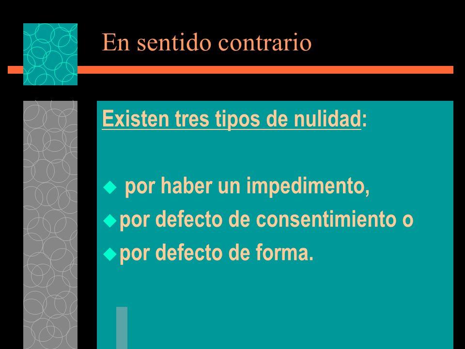 La convalidación del matr (También llamada convalidación simple) Viene regulada en los cc.
