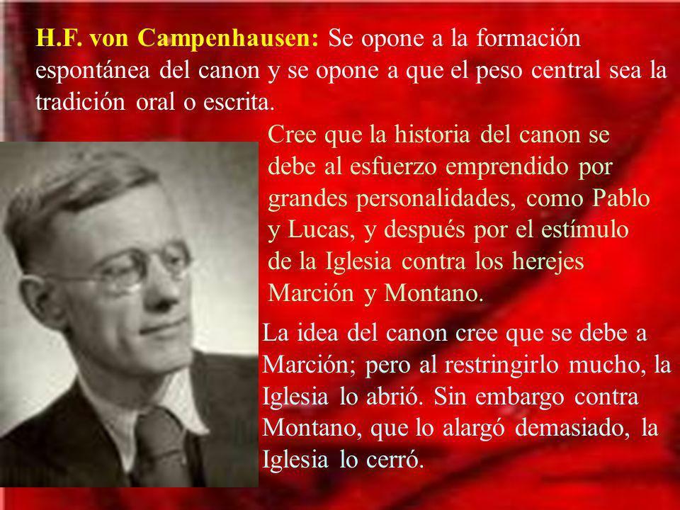 b.Resumen de los criterios de canonicidad.