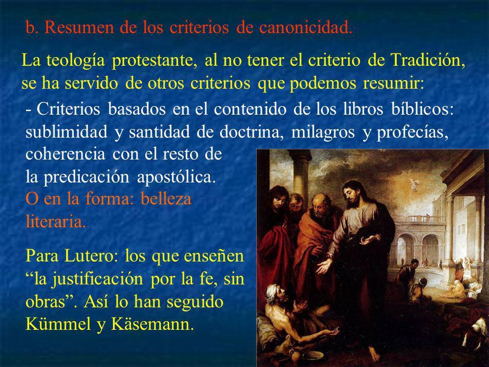-Criterios basados en los efectos salvíficos del libro o capacidad de imponerse a los fieles.