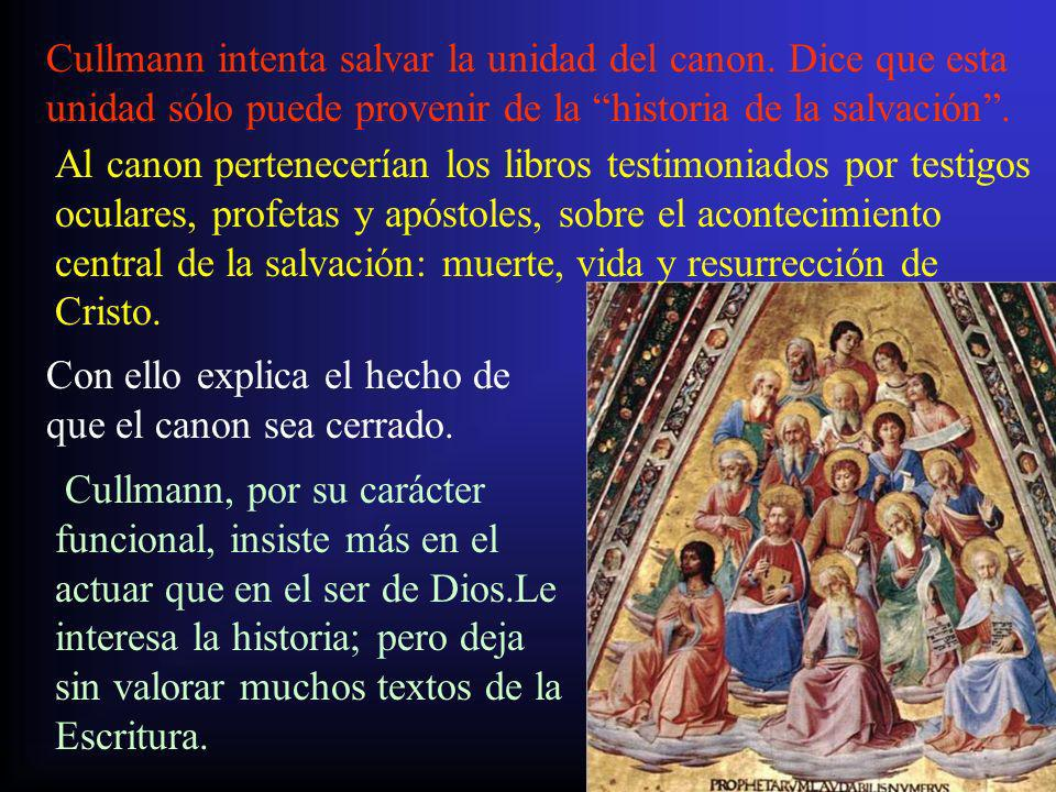 3.El canon en otras confesiones cristianas no católicas.
