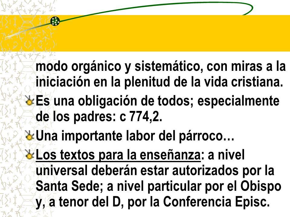 El Catecismo de la Iglesia Católica Itinerario Petición de la Asamblea Extraordinaria del Sínodo de Obispos de 1985.