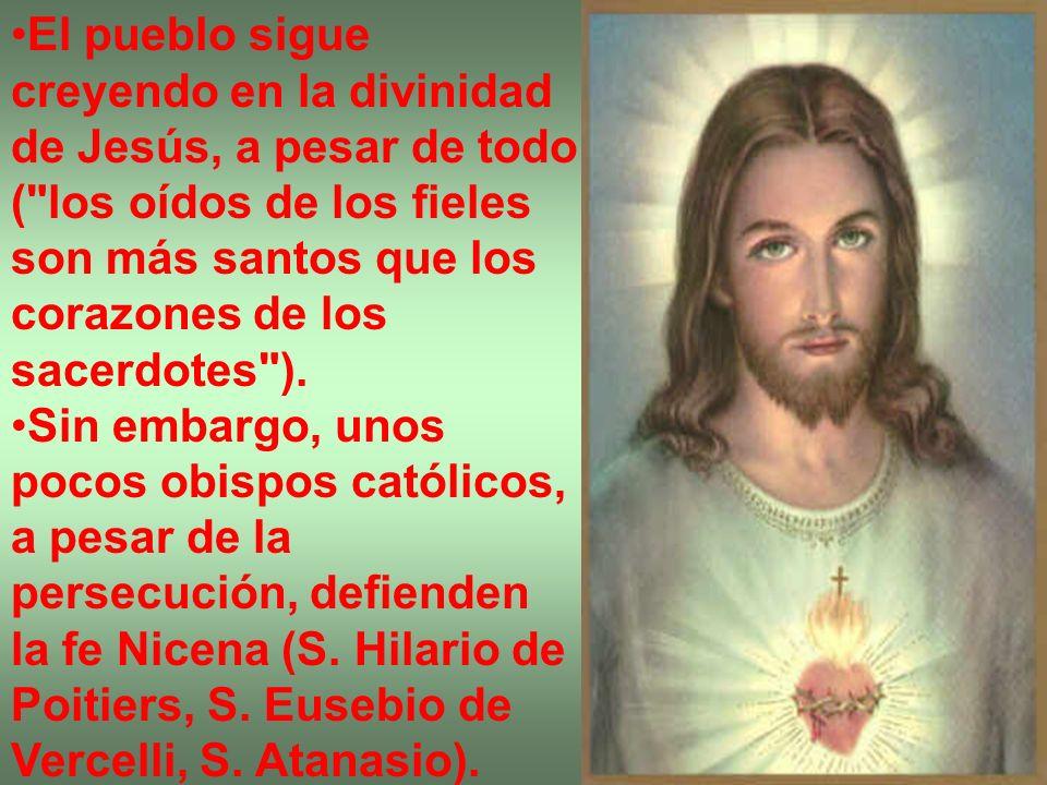 El pueblo sigue creyendo en la divinidad de Jesús, a pesar de todo (