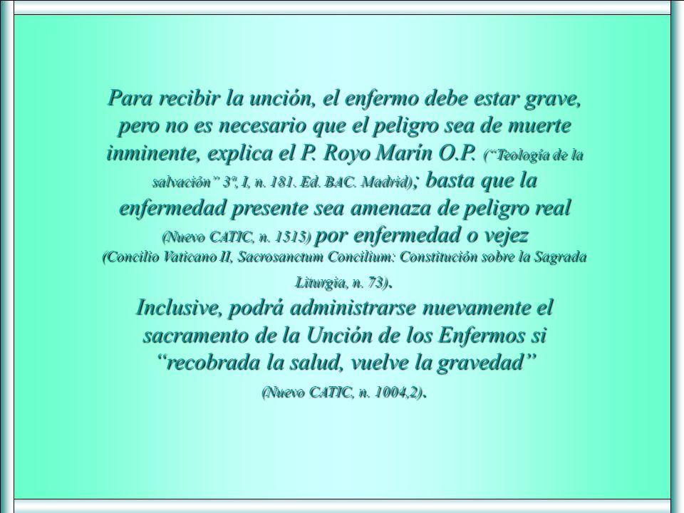 Advierte el P. Antonio Royo Marín O.P. que puede ser que muchos se condenen por un amor mal entendido de sus familiares (Teología de la salvación, 3ª,