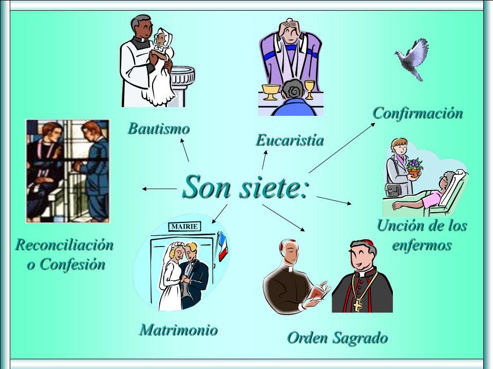 Los Sacramentos son: Signos sensibles que confieren la gracia que significan. (Nuevo CATIC, n. 1127) Ritos, ceremonias sagradas (que incluyen palabra