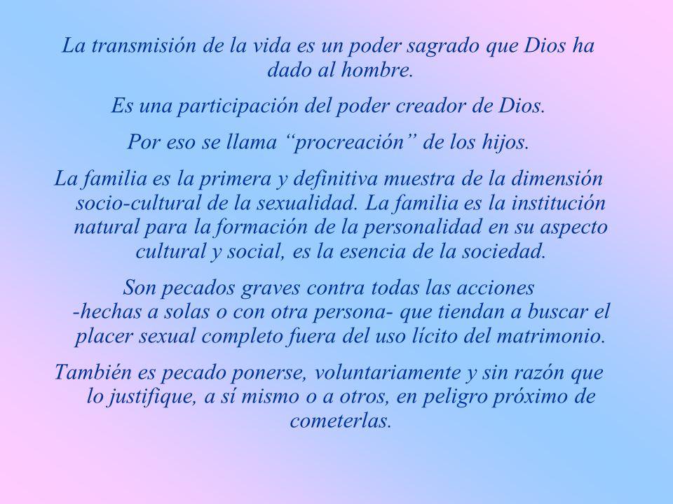 h) Por tratarse de una exigencia de la ley natural, todos los hombres reciben de Dios la ayuda necesaria para cumplir este precepto del Decálogo. El p