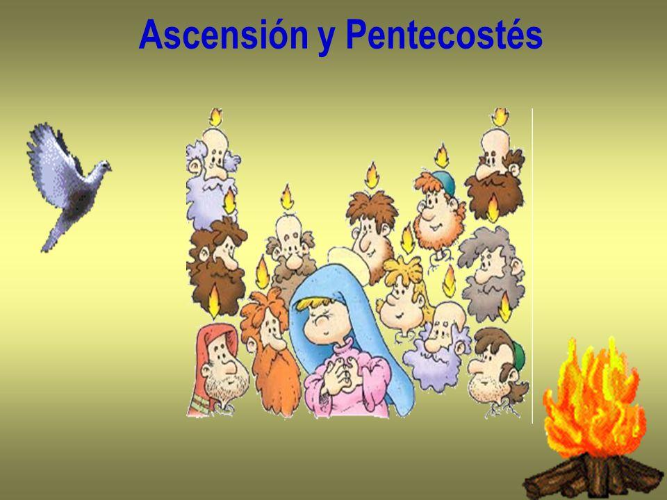 Ascensión y Pentecostés