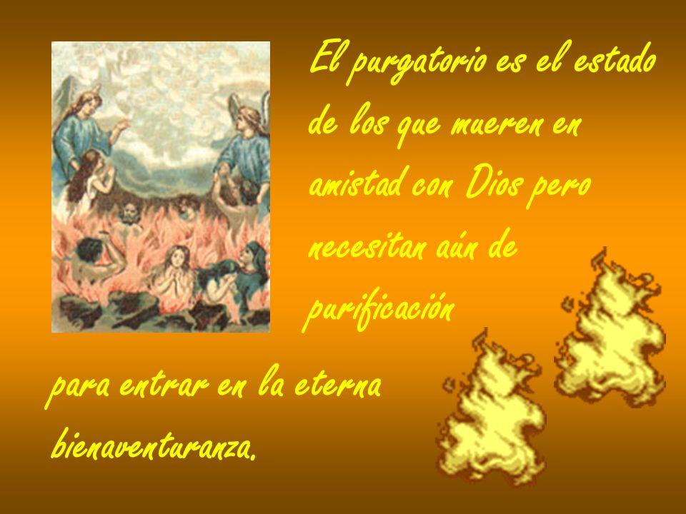 En virtud de la comunión de los santos, los fieles que peregrinan aún en la tierra pueden ayudar a las almas del purgatorio ofreciendo por ellas oraciones de sufragio, en particular el sacrificio de la Eucaristía, limosnas e indulgencias.