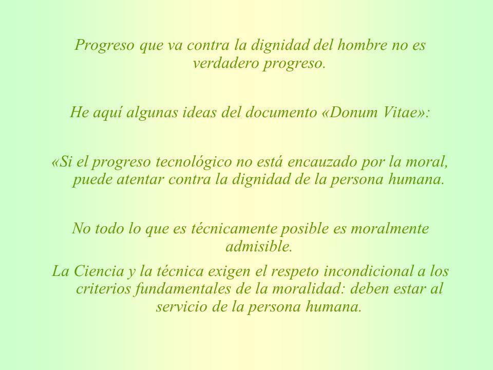 El Dr. Justo Aznar, Jefe del Departamento de Biopatología Clínica del Hospital de la Fe de Valencia, dice que, por cada niño «in vitro» que nace se pi